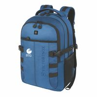 "135073502-174 - Victorinox® Cadet 16"" Essential Laptop Backpack (Blue) - thumbnail"