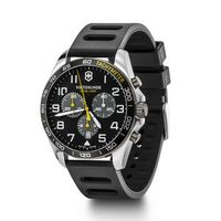 366226361-174 - Sport Chrono Black Dial Ruber Strap Watch - thumbnail