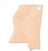 "595802357-174 - 14""x9.5"" Epicurean Mississippi Shaped Cutting Board - thumbnail"