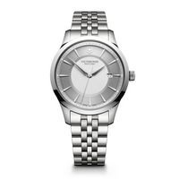 716226411-174 - Large Silver Dial Stainless Steel Bracelet Watch - thumbnail