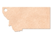 "785802380-174 - 14.5""x8"" Epicurean Montana Shaped Cutting Board - thumbnail"