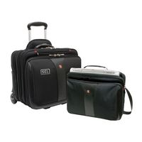 "955073648-174 - Wenger PATRIOT 2-Piece Business Set with Comp-U-Roller and matching 15.4"" Laptop Case - thumbnail"