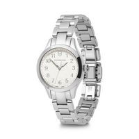 996226375-174 - Small White Dial Stainless Steel Bracelet Watch - thumbnail
