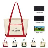 104002302-816 - Medium Cotton Canvas Sailing Tote Bag - thumbnail