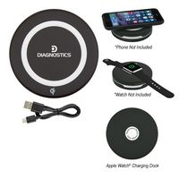 105813315-816 - Phone And Watch Wireless Power Bank - thumbnail
