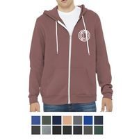 125703361-816 - Bella+Canvas ® Unisex Sponge Fleece Full-Zip Hoodie - thumbnail