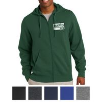 135440090-816 - Sport-Tek® Full-Zip Hooded Sweatshirt - thumbnail
