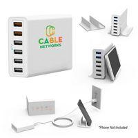 145353445-816 - PowerHub 6-Port USB Wall Charger - thumbnail