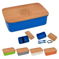 146322155-816 - Harvest Lunch Set With Bamboo Lid - thumbnail