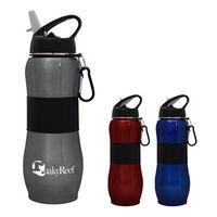 163128158-816 - 28 Oz. Sport Grip Stainless Steel Bottle - thumbnail