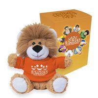 "165013513-816 - 6"" Lovable Lion With Custom Box - thumbnail"