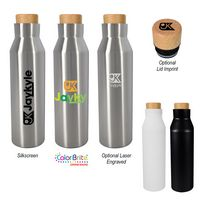 166050043-816 - 21 Oz. Baja Stainless Steel Bottle - thumbnail
