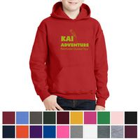 184586374-816 - Gildan® Youth Heavy Blend™ Hooded Sweatshirt - thumbnail