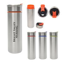 316070995-816 - 16 Oz. Claire Stainless Steel Tumbler - thumbnail