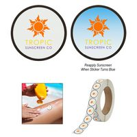 336090839-816 - Sunburn Alert Circle Sticker - thumbnail