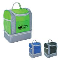 343708554-816 - Two-Tone Cooler Lunch Bag - thumbnail