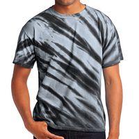 345353443-816 - Port & Company® Tiger Stripe Tie-Dye Tee - thumbnail