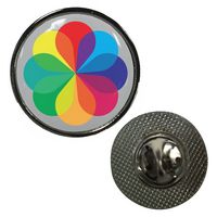 365186975-816 - Circle Dome Lapel Pin - thumbnail