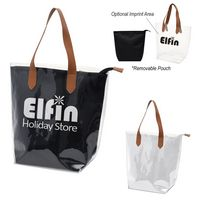 366008363-816 - Accord Clear Tote Bag With Pouch - thumbnail