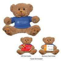 "375760447-816 - 6"" Hold-A-Card Benjamin Bear - thumbnail"
