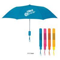 "384556271-816 - 42"" Arc Neon Telescopic Folding Umbrella - thumbnail"
