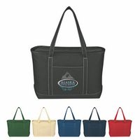 394002236-816 - Large Cotton Canvas Yacht Tote Bag - thumbnail