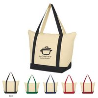 395489925-816 - Folksy Cotton Tote Bag - thumbnail