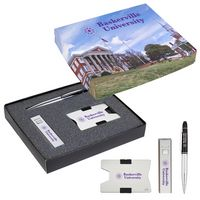 395633965-816 - RFID Card Holder, Power Bank And Pen Gift Set - thumbnail