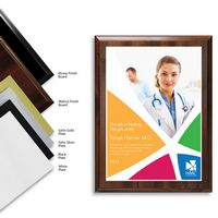 "396454076-816 - 9"" x 12"" Full Color Plaque - thumbnail"