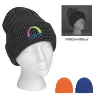 505813316-816 - Go & Glow Reflective Beanie With Cuff - thumbnail