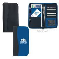 521349748-816 - Microfiber Travel Wallet With Embossed PVC Trim - thumbnail