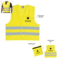 522815532-816 - Reflective Safety Vest - thumbnail