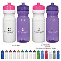 522866220-816 - 24 Oz. Poly-Clear™ Fitness Bottle - thumbnail