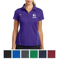 525551500-816 - Nike Ladies' Dri-FIT Sport Swoosh Pique Polo - thumbnail