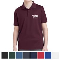 535414658-816 - Sport-Tek® Youth PosiCharge® RacerMesh™ Polo - thumbnail