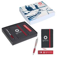 536154985-816 - Journal, Power Bank And Pen Gift Set - thumbnail
