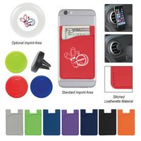 555489943-816 - Magnetic Auto Air Vent Phone Wallet - thumbnail