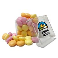 555808015-816 - Cube Shaped Acrylic Container With Candy - thumbnail