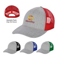 556353915-816 - Hayden Heathered Mesh Back Cap - thumbnail