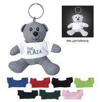 566102410-816 - Mini Reflective Bear Key Tag - thumbnail