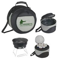 574290191-816 - Portable BBQ Grill And Cooler - thumbnail