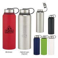 575056659-816 - 40 Oz. Invigorate Stainless Steel Bottle - thumbnail