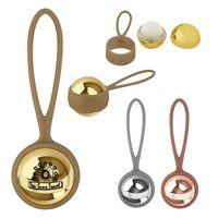 575806575-816 - Metallic Lip Moisturizer Ball With Holder - thumbnail