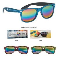 595019069-816 - Woodtone Mirrored Malibu Sunglasses - thumbnail