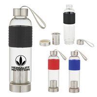 595119856-816 - 18 Oz. Infuser Glass Bottle - thumbnail