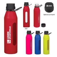 595200134-816 - 24 Oz. Synergy Glass Sports Bottle - thumbnail