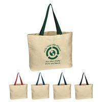 703123187-816 - Natural Cotton Canvas Tote Bag - thumbnail