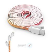 705887179-816 - 10 Foot Branded Triple Tip Cable - thumbnail