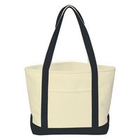 733122805-816 - Heavy Cotton Canvas Boat Tote Bag - thumbnail