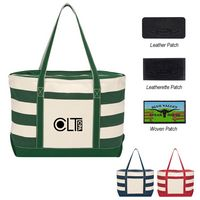 744002183-816 - Cotton Canvas Nautical Tote Bag - thumbnail
